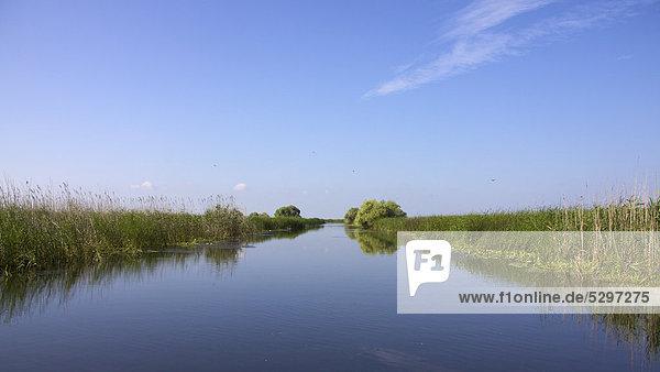 Donaudelta  UNESCO Weltnaturerbe  Rum‰nien  Europa