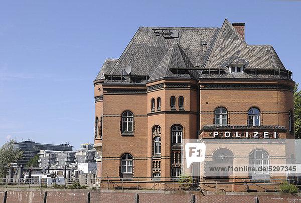 Alte Polizeiwache in Hamburg  Deutschland  Europa