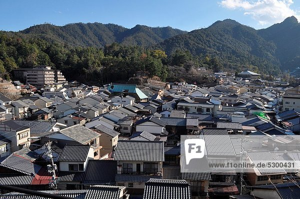 Miyajima (Japan): view of the town