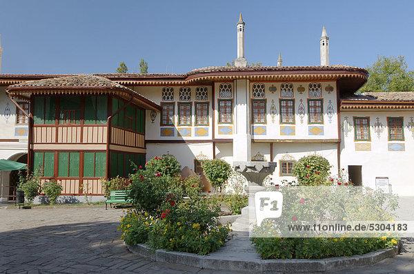 Khan-Palast  Bachtschyssaraj  Halbinsel Krim  Ukraine  Osteuropa