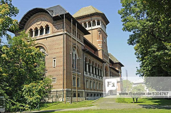 Muzeul Taranului Roman  Museum des rumänischen Bauern  Bauernmuseum  Volkskunst  Bukarest  Rumänien  Osteuropa  ÖffentlicherGrund