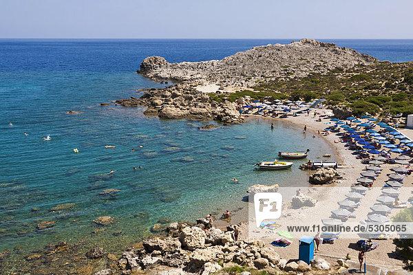 Europa Griechenland Rhodos