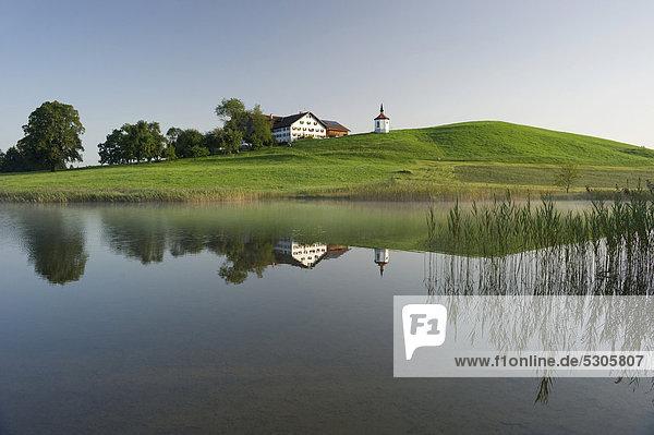 nahe Europa sehen See Bayern Kapelle Füssen Deutschland