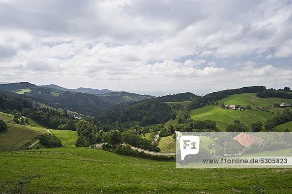 Europa Landschaft Baden-Württemberg Deutschland