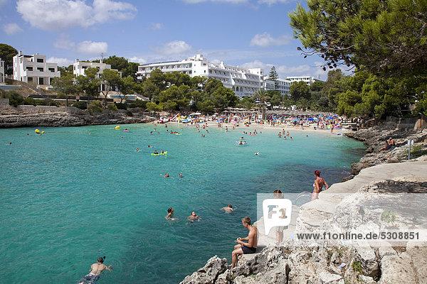 Europa Balearen Balearische Inseln Mallorca Mittelmeer Spanien