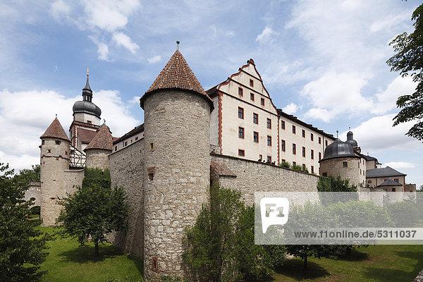 Festung Marienberg  Würzburg  Unterfranken  Franken  Bayern  Deutschland  Europa