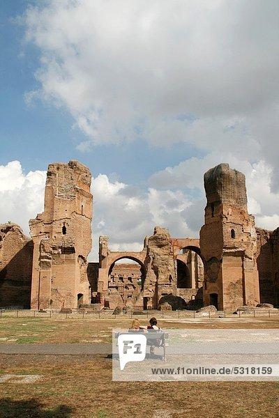 Rom  Hauptstadt  baden  Italien
