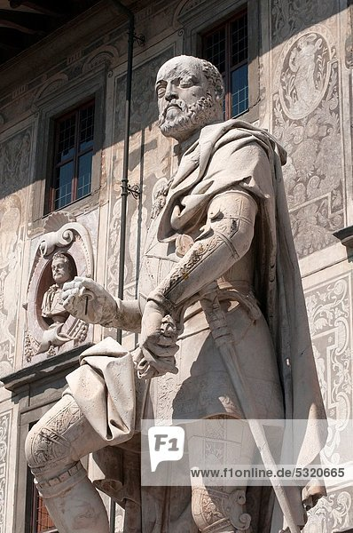 Hintergrund  Statue  Palast  Schloß  Schlösser  Italien  Pisa  Toskana  Universität