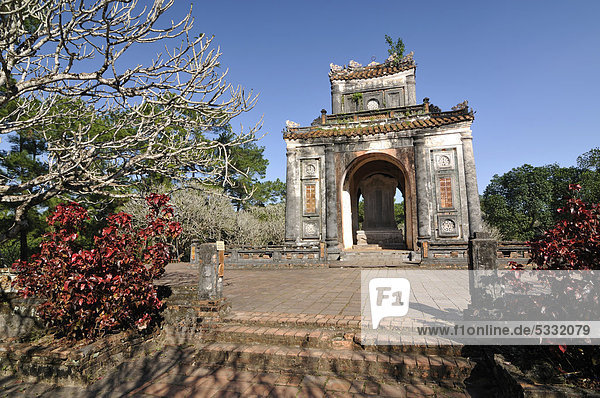 Kaiser Tu Duc Mausoleum  Hue  Nordvietnam  Vietnam  Südostasien  Asien