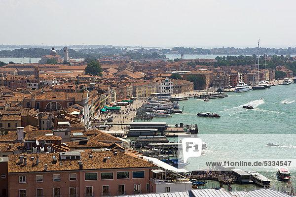Panoramic views of Venice  Italy  Europe