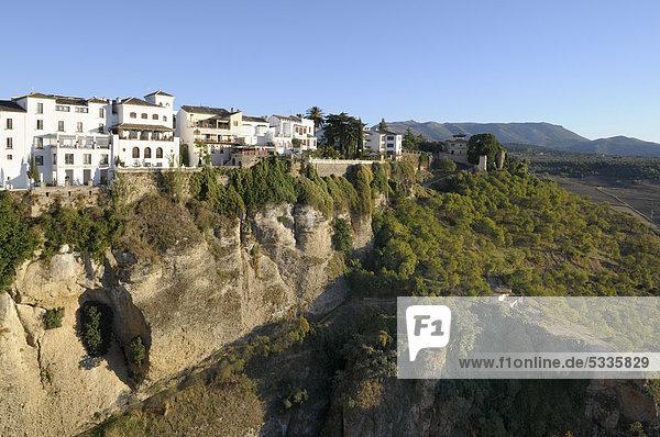 Ronda  Malaga Provinz  Andalusien  Spanien  Europa