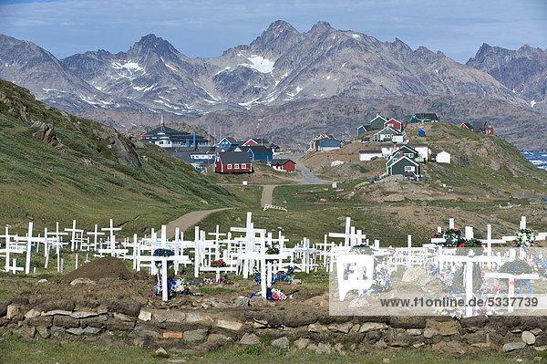 Tasiilaq Grönland Friedhof
