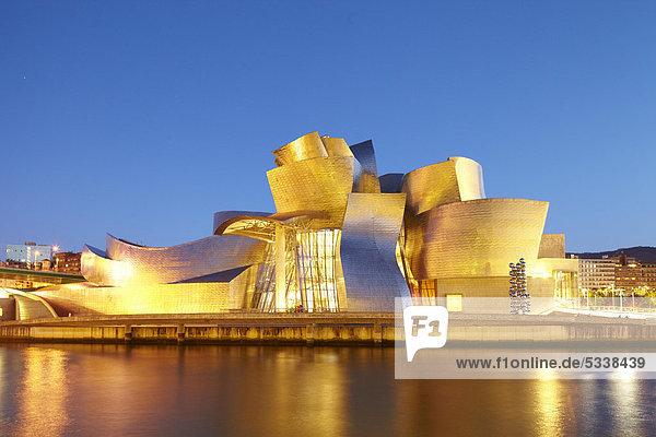 Guggenheim-Museum  Bilbao  Baskenland  Spanien  Europa