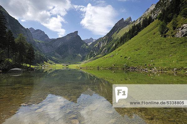 Europa Berg See Schweiz