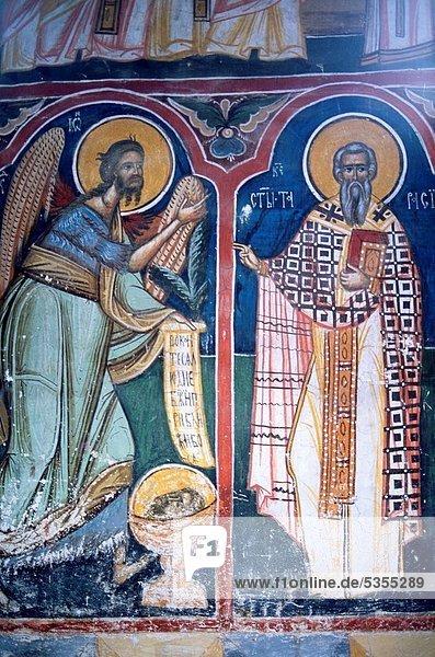 Romania  Bucovina  Moldovita Monastery  fresco