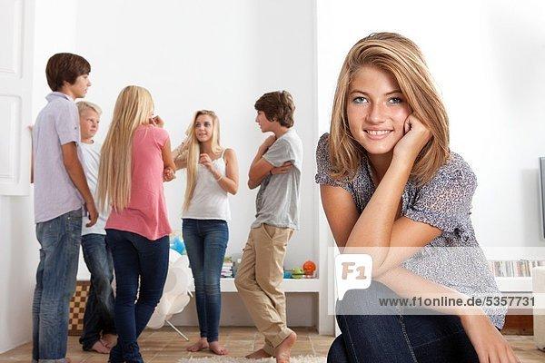 Gruppe von Teenagern