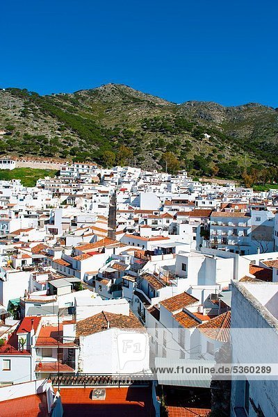 The old town of Mijas in Costa del Sol  Andalusia  Spain
