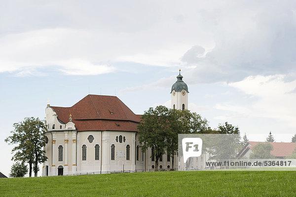 Wieskirche  Allgäu  Bayern  Deutschland  Europa