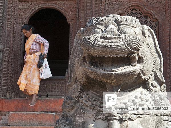 Kathmandu Hauptstadt Loyalität verlassen Nepal Südasien Mittlerer Osten