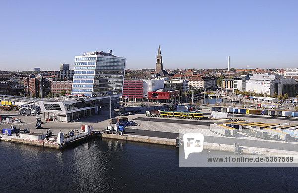 Kieler Hafenansicht  Kiel  Schleswig-Holstein  Deutschland  Europa