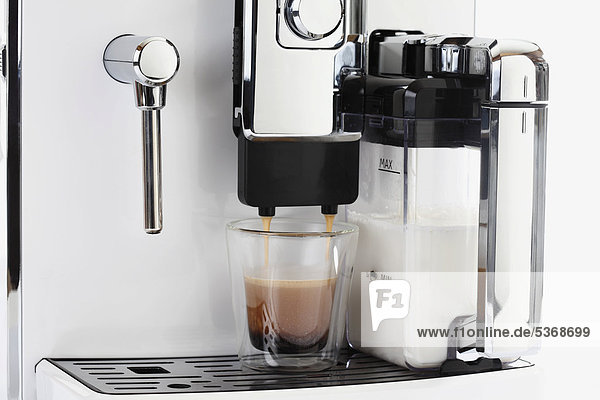 Kaffeemaschine mit Espresso