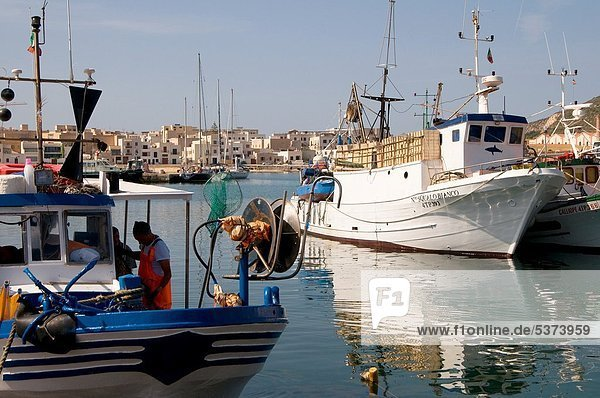 Hafen  Italien  Sizilien