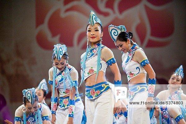 chinesisch  Kunst  Kultur  zeigen  Kuching  Malaysia  Sarawak