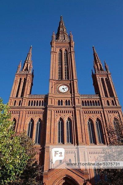 Marktkirche  Wiesbaden  Hesse  Germany