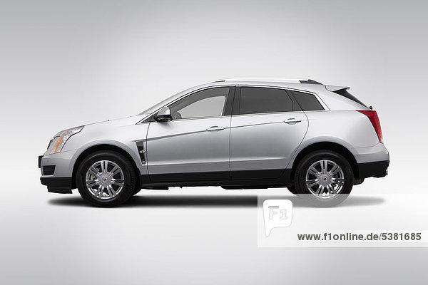 Profil Profile fahren Reichtum Cadillac Silber Seitenansicht Kollektion