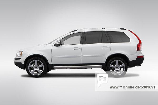 Profil Profile fahren weiß Volvo Seitenansicht