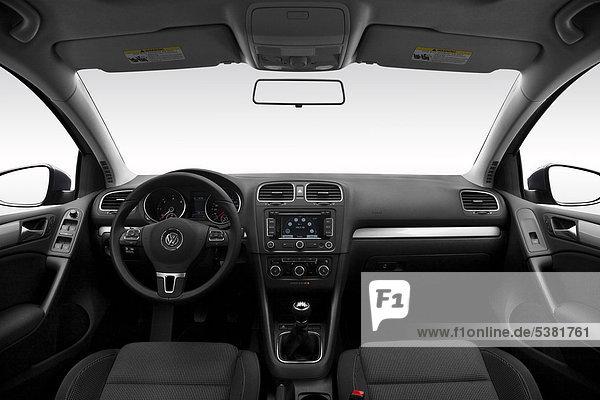 grau Lenkrad VW Golf Auto Golfsport Golf Mittelkonsole Armaturenbrett