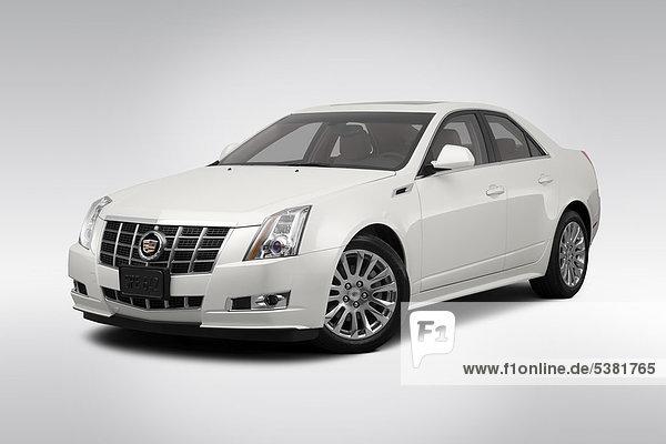 weiß frontal Ansicht Flachwinkelansicht Cadillac Winkel Kollektion