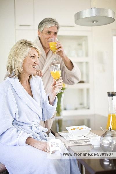 Zusammenhalt  Frühstück