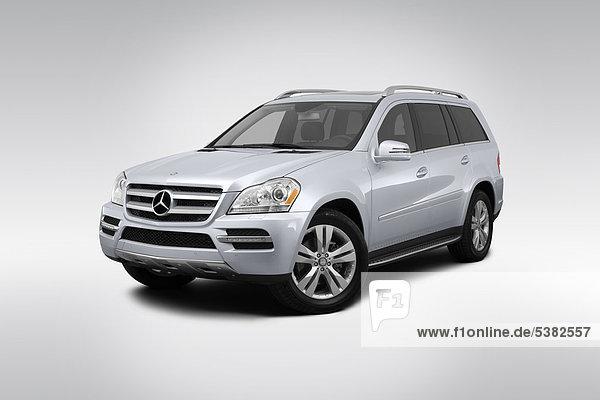 frontal Ansicht Flachwinkelansicht Silber Daimler-Chrysler Winkel