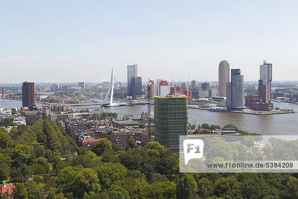 Stadtansicht  Rotterdam  Holland  Niederlande  Europa Stadtansicht, Rotterdam, Holland, Niederlande, Europa