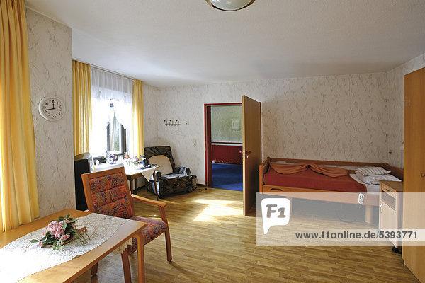 Zimmer im Altenheim  Pflegeheim