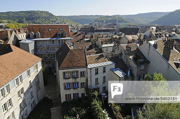 Quartier de Battant  Stadtviertel  Altstadt  Besancon  Departement Doubs  Franche-Comte  Frankreich  Europa  ÖffentlicherGrund