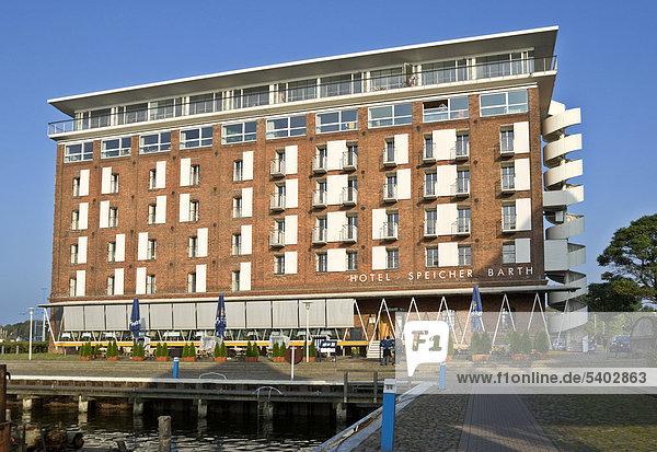 Hotel Speicher Barth im Hafen von Barth  Mecklenburg-Vorpommern  Deutschland  Europa