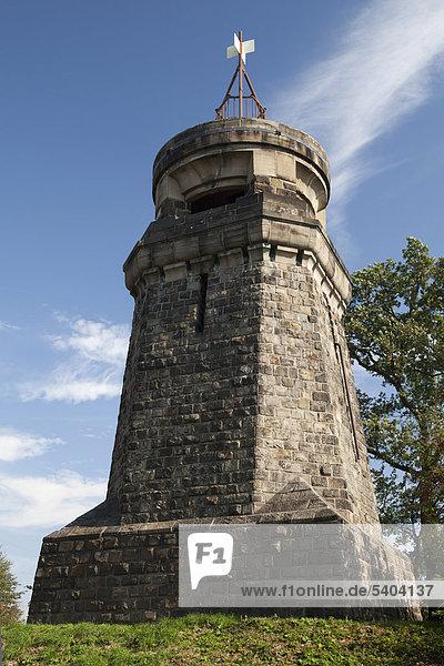 Aussichtsturm Bismarckturm  Fröndenberg Ruhr  Kreis Unna  Ruhrgebiet  Nordrhein-Westfalen  Deutschland  Europa  ÖffentlicherGrund