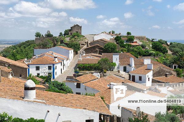 Village of Monsaraz  Alentejo  Portugal  Europe