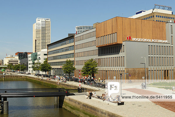 Hogeschool  a university of applied sciences in Rotterdam  Holland  the Netherlands  Europe