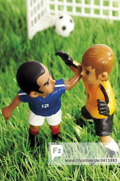 Ziel Spiel frontal 2 Football