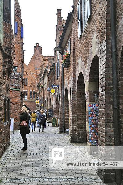 Europa Bremen Deutschland links rechts
