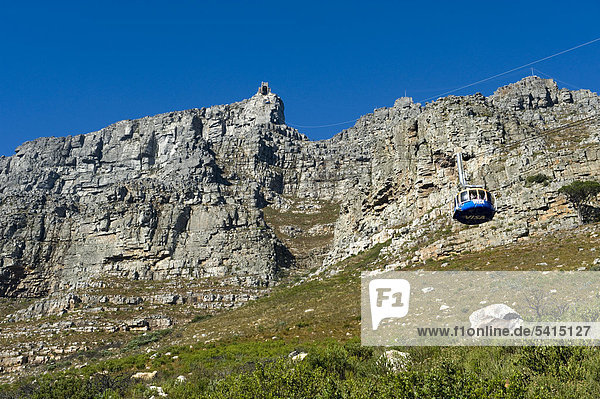 Table Mountain  Western Cape Province  South Africa