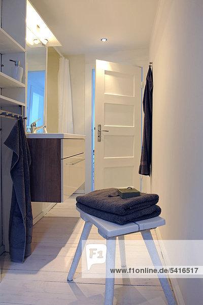 Badezimmer Handtuch