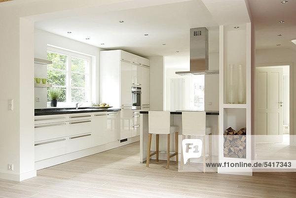 Helligkeit Organisation organisieren offen Küche modern