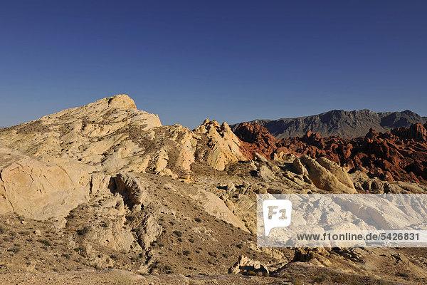 Silica Dome im Fire Canyon  Valley of Fire State Park  Nevada  Vereinigte Staaten von Amerika  USA