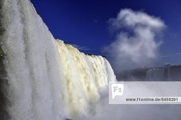 Iguazu Falls  Foz do IguaÁu  Parana  Brazil  South America