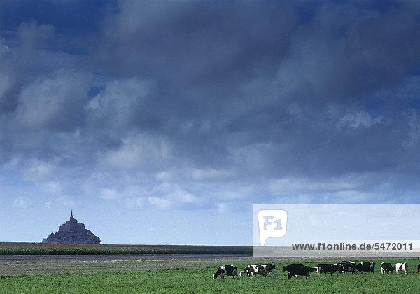 Mont Saint-Michel  Frankreich