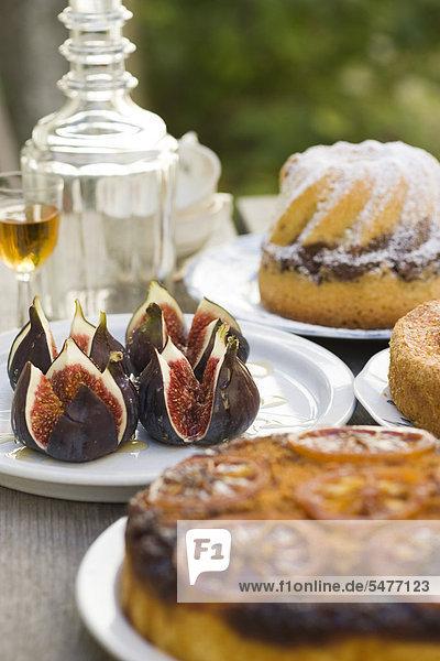 Verschiedene desserts